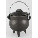 Small Plain Cast Iron Cauldron